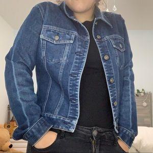 Dark washed Real denim/jean jacket